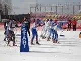 Чемпионат России по лыжным гонкам. Персьют.